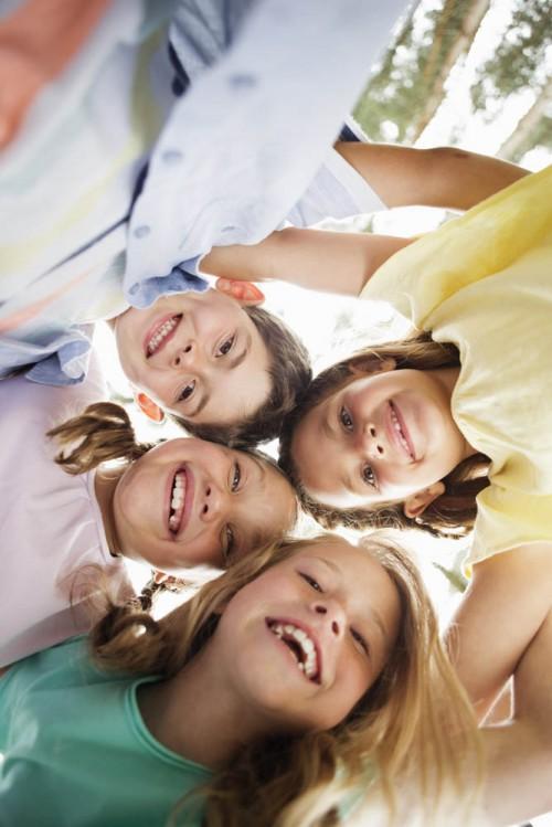 Portrait of children (4-5), (6-7), (8-9)