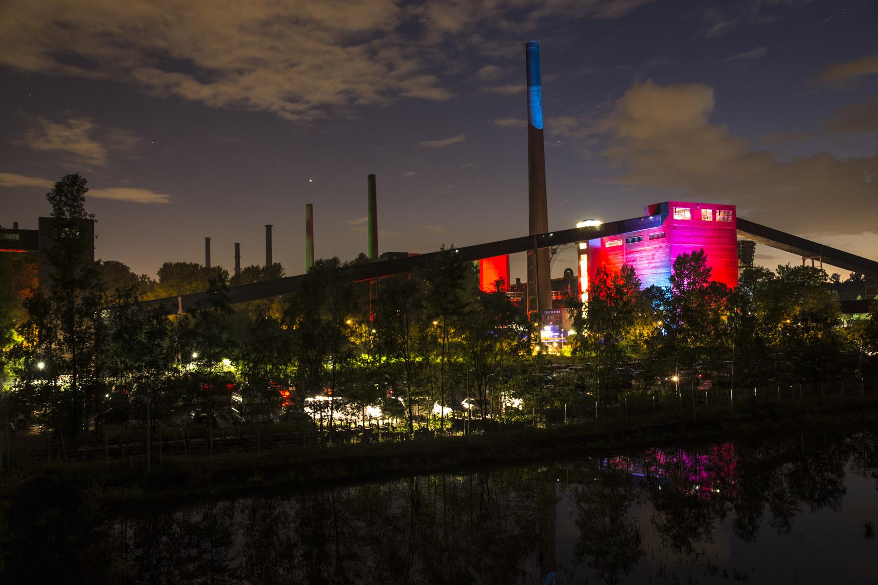 ExtraSchicht 2016. Sommer.Nachts.Traum. auf dem UNESCO-Welterbe Zollverein