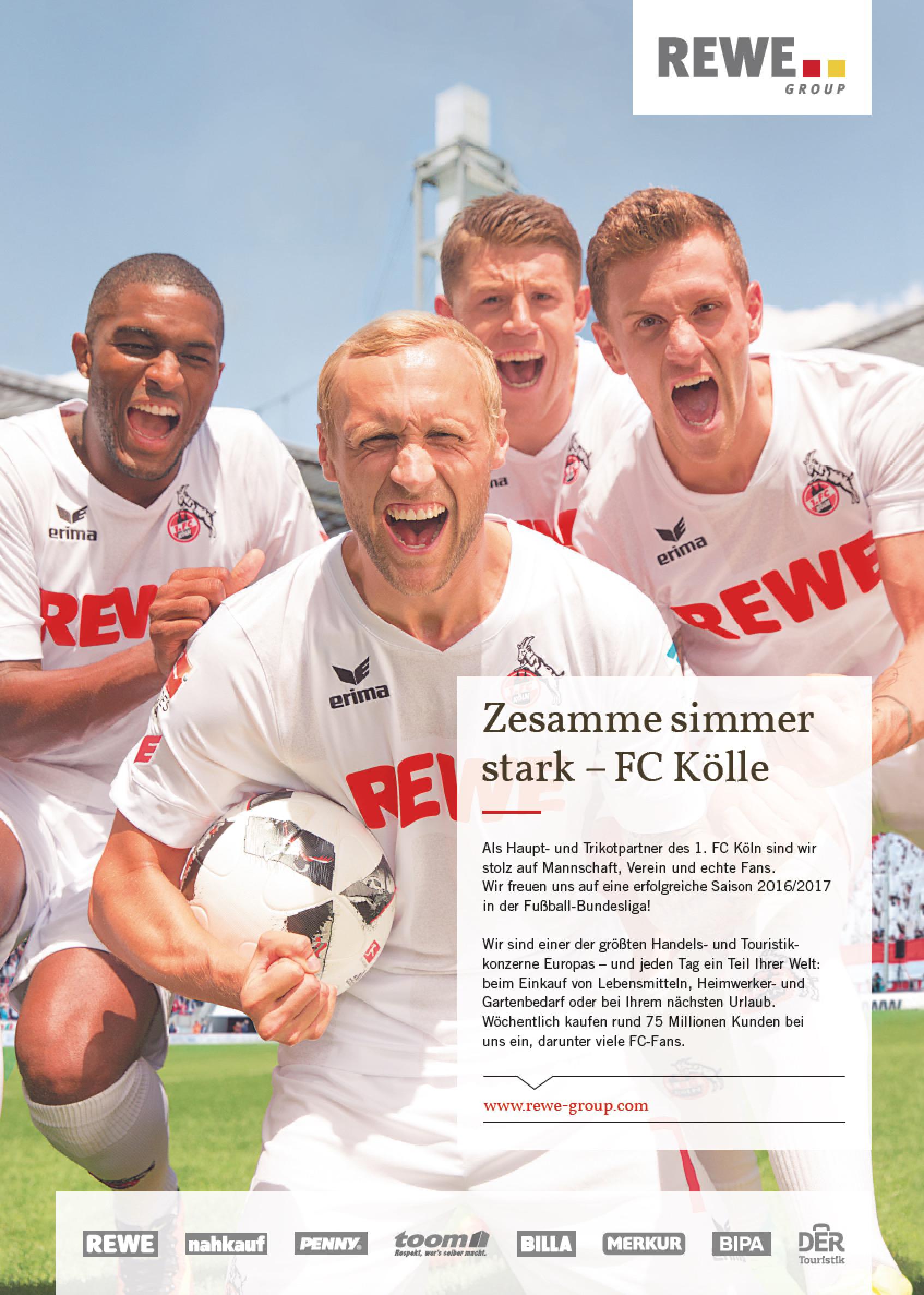 FC Köln für Rewe, fotografie tomas rodriguez köln