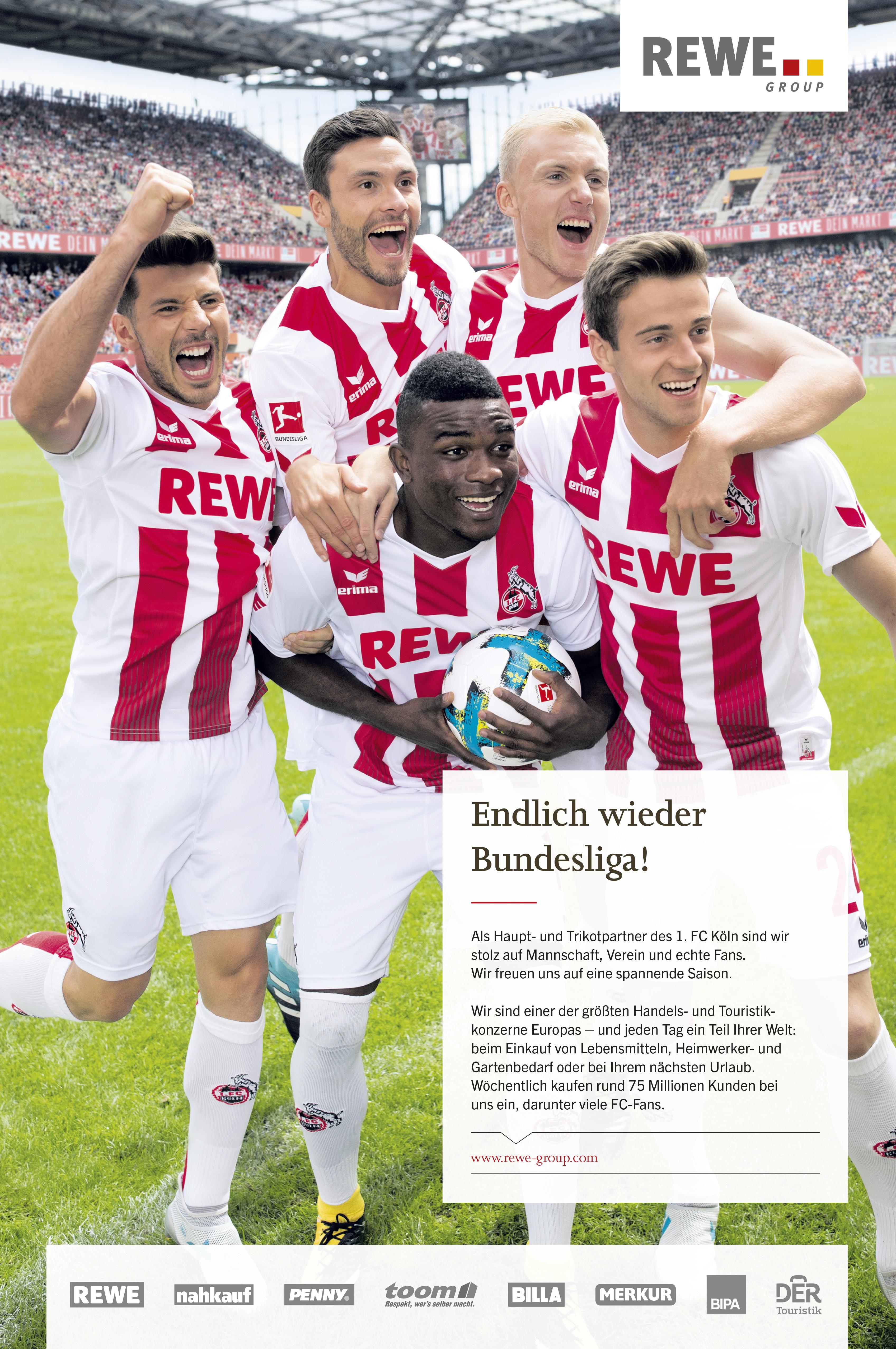fotografie tomas rodriguez, FC Köln für Rewe